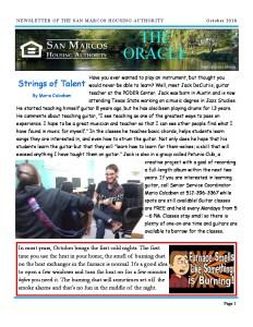 thumbnail of SMHA Oracle – October 2018