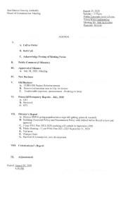 thumbnail of SMHA Board Meeting Agenda August 25 2020