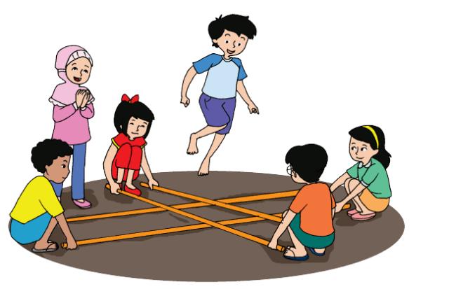 Halaman 28 kerukunan dan persatuan dalam permainan tradisional rangku alu