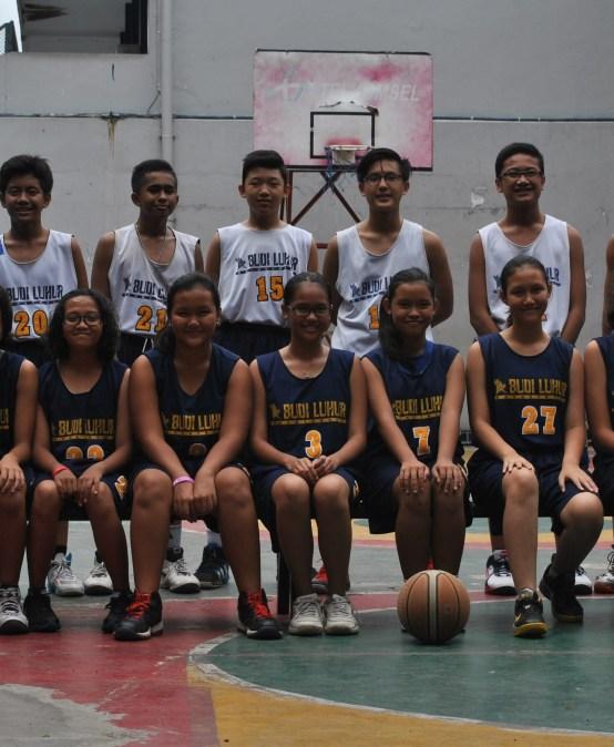 Basketball Team of Budi Luhur Junior High School