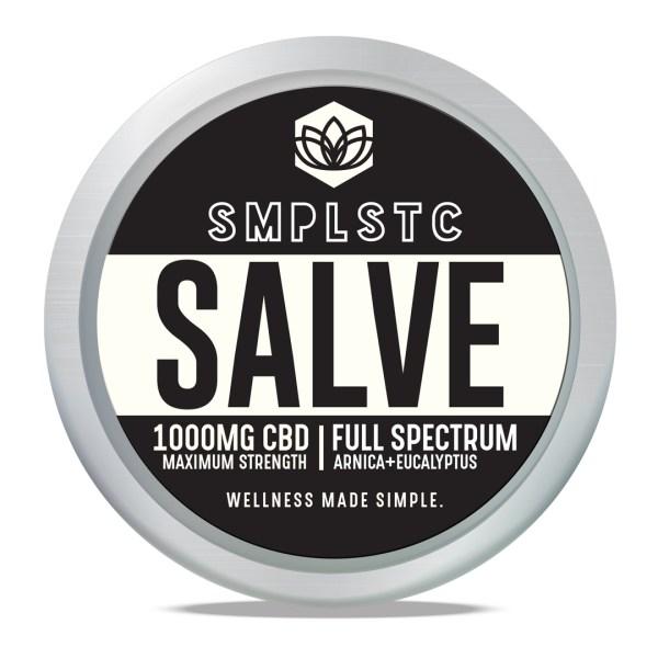 SMPLSTC 100 mg Full Spectrum CBD Salve
