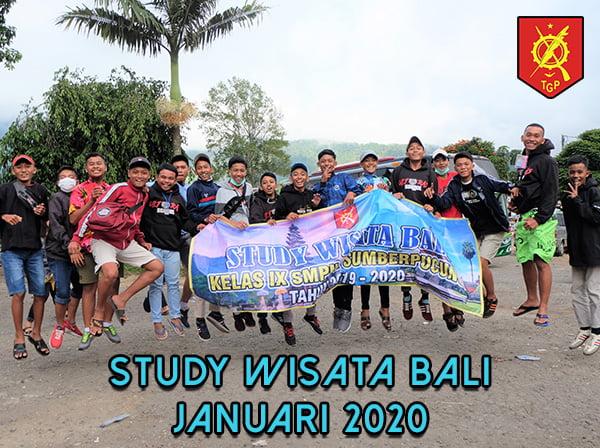STUDY WISATA SMP NEGERI 2 SUMBERPUCUNG BALI 2020