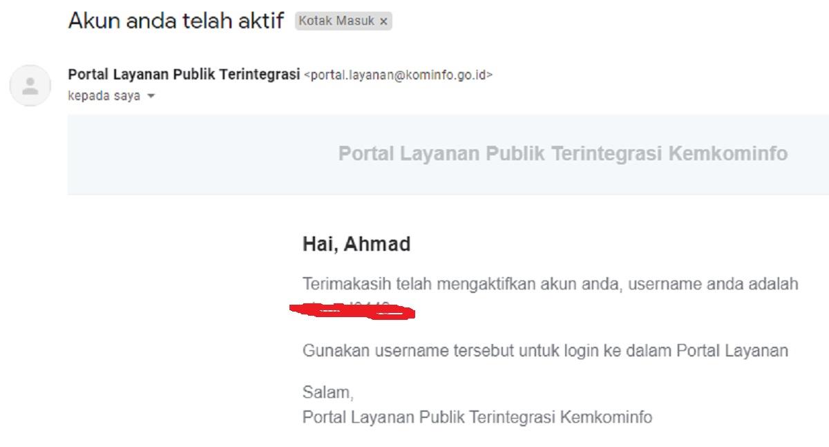 Cara Membuat Email PNS GO.ID