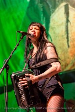 Katie 'Kaboom' McConnell - The Mahones