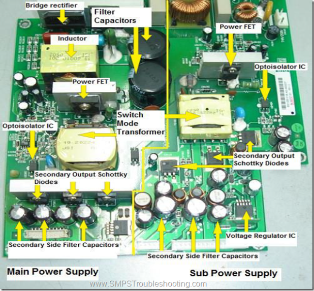How Switch Mode Power Supply works - SMPS Troubleshooting