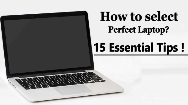 How to select perfect Laptop
