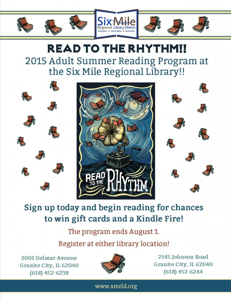 2015 Adult Summer Reading Program « Six Mile Regional