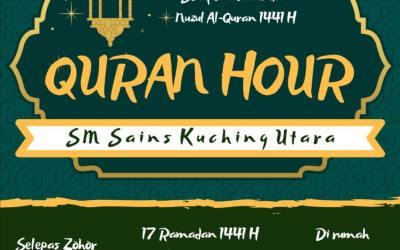 Quran Hour SAKURA – Nuzul Al-Quran 1441H