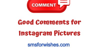 Good Comments for Instagram Pictures