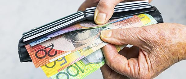 Borrow pension cash shortfall