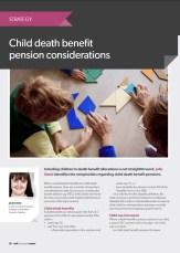 child death benefit pensions