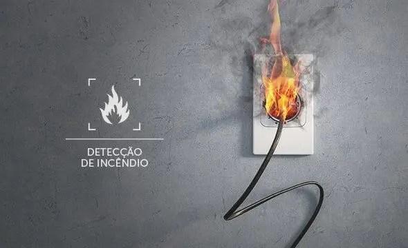 detecção de fogo