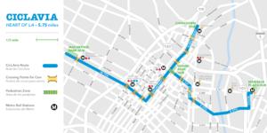CicLAvia Map Oct 2016