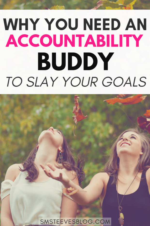 Holding ourselves accountable is hard and it's so easy to lose track of our goals and give into excuses. Having an accountability buddy will help keep you focused, motivated, and on track. Learn more about the benefits of an accountability buddy here! #accountability #motivation #inspiration #relationships #goals