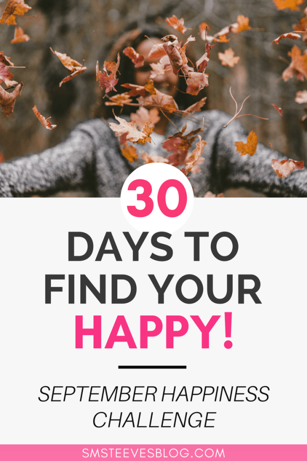 Tips on how to increase happiness as the seasons change. Change in seasons is a perfect time to let go of what you've been holding onto and promote happiness for the season to come! #happiness #depression #gratitude #mentalhealth