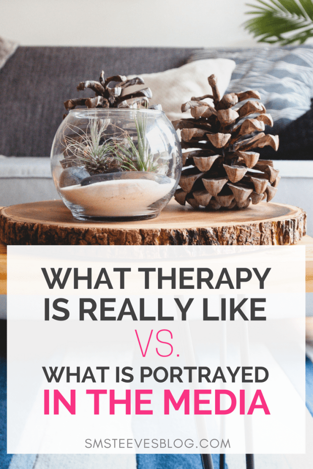 Ever wonder what therapy is really like? Learn more about common misconceptions around mental health therapy and how what is portrayed in the media is not always an accurate portrayal! #mentalhealth #therapy #therapist #anxiety #depression