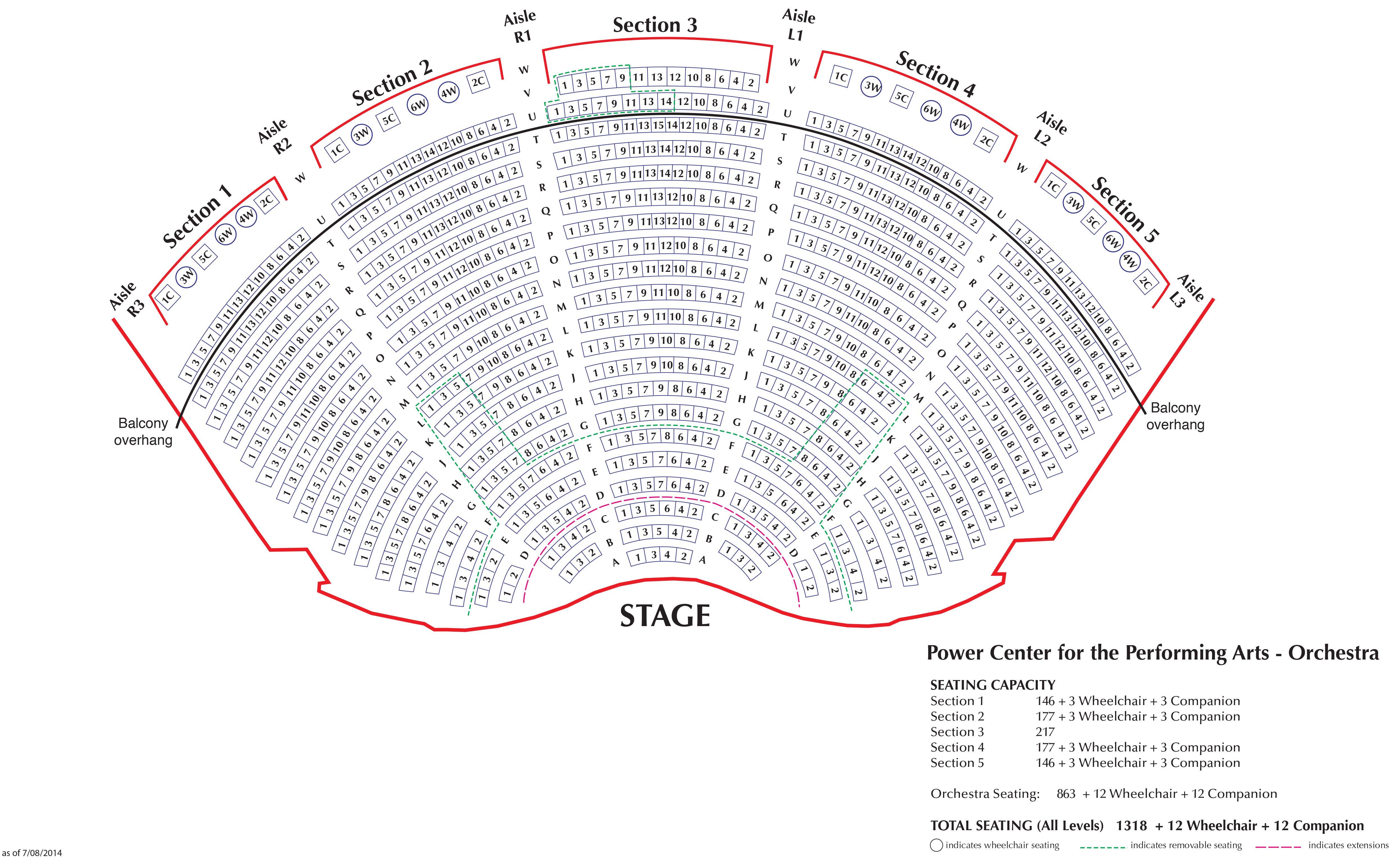 At Amp T Performing Arts Center Seating Chart