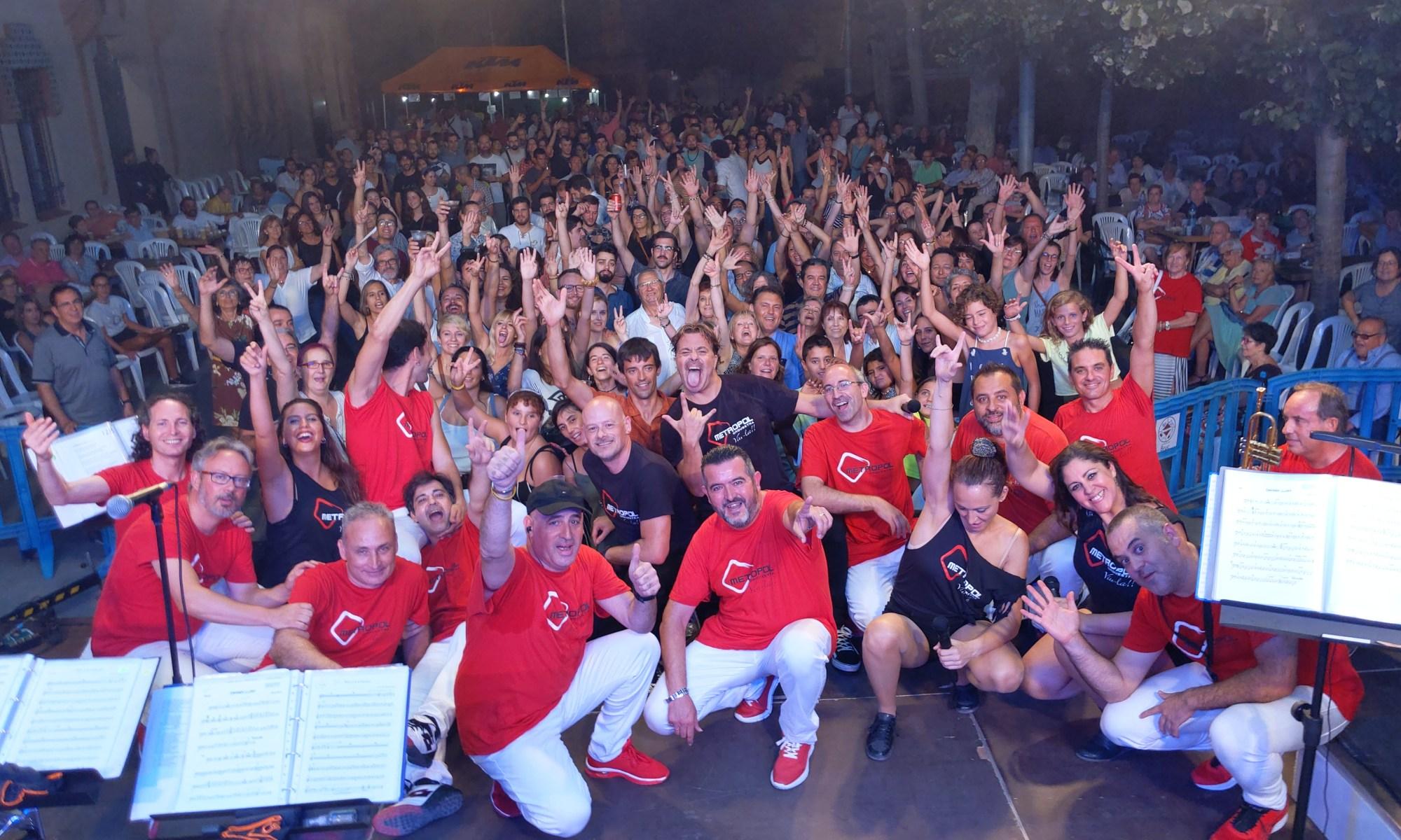Selfie Orquestra Metropol al Bruc 2019