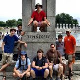 Tennessee strong. Some awesome guys at the national mall.