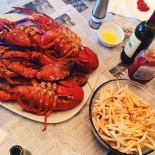 Delicious looking Lobsters