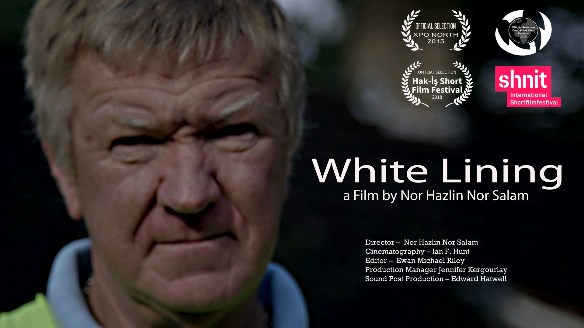 White Lining Movie Poster