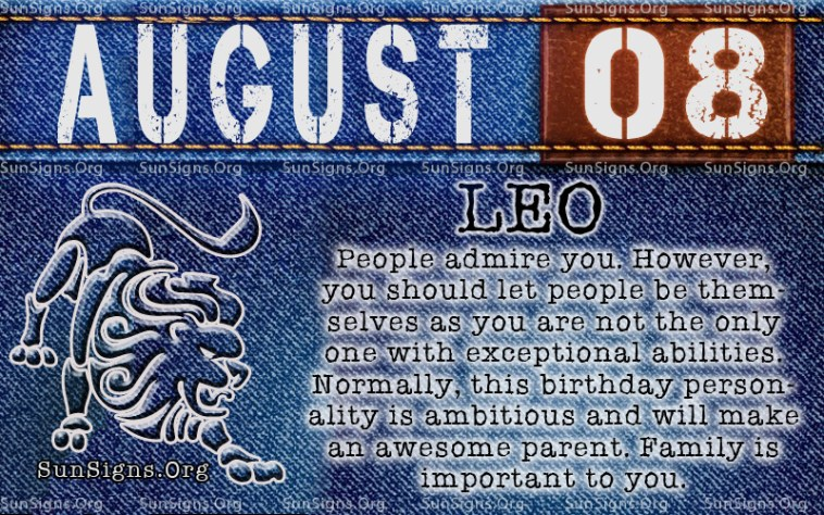 10 Things To Keep August Zodiac Sign Happy Smugg Bugg