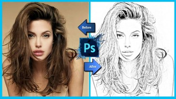 Converting Your Image To Pencil Sketch Using Photoshop