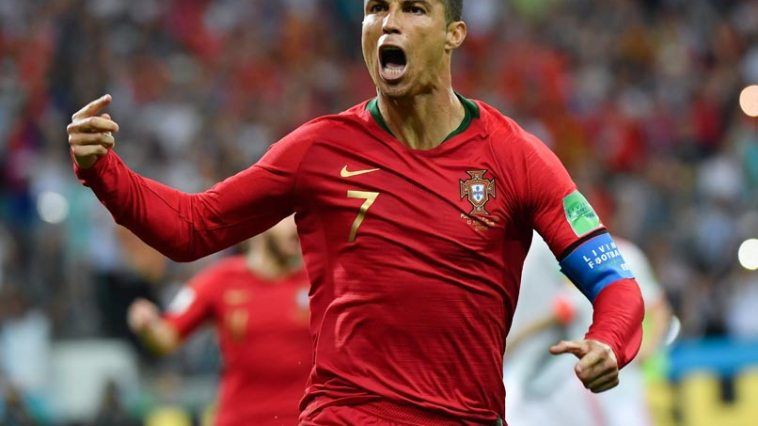 Cristiano Ronaldo Win All Football World Cup Best Player of the Day award