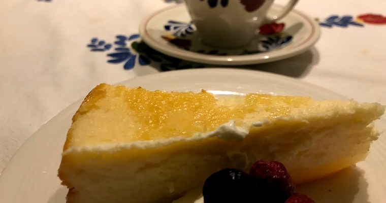 Traditionele Cheesecake