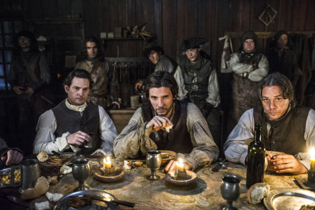 Men like John Adams, Samuel Adams, and Paul Revere (as were depicted in the Sons of Liberty miniseries on History Channel) met and discussed the events that were affecting the colonies at the Green Dragon Tavern in Boston, MA.