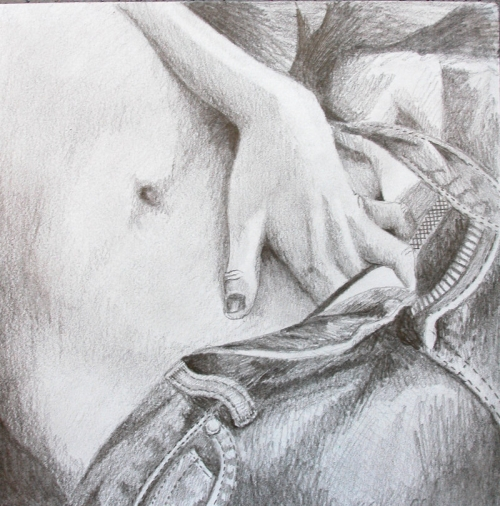 masturbation drawing
