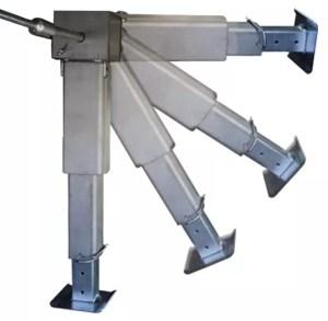 SMV - Alu-Matic Stütze   Ausfahren