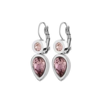 Verna Antique Pink örhängen, rosa