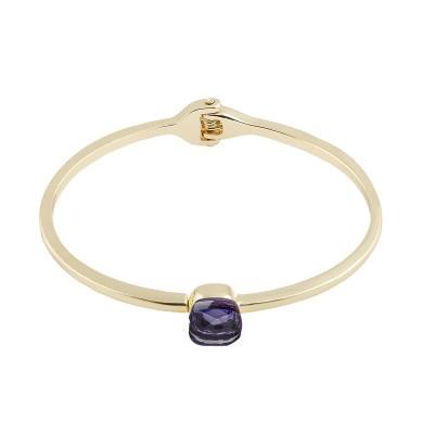 Hatt bangle armband, purple