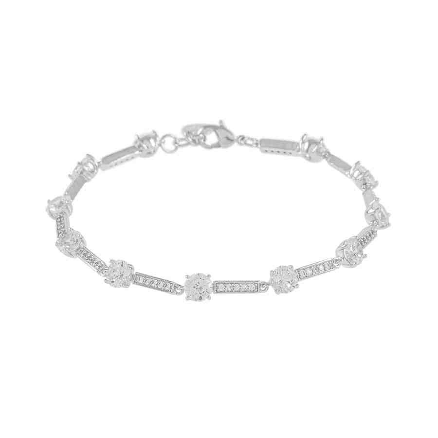 Elaine armband, silver
