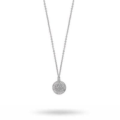Glow Pendant halsband, silver