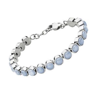 Armine blue armband, blå/silver