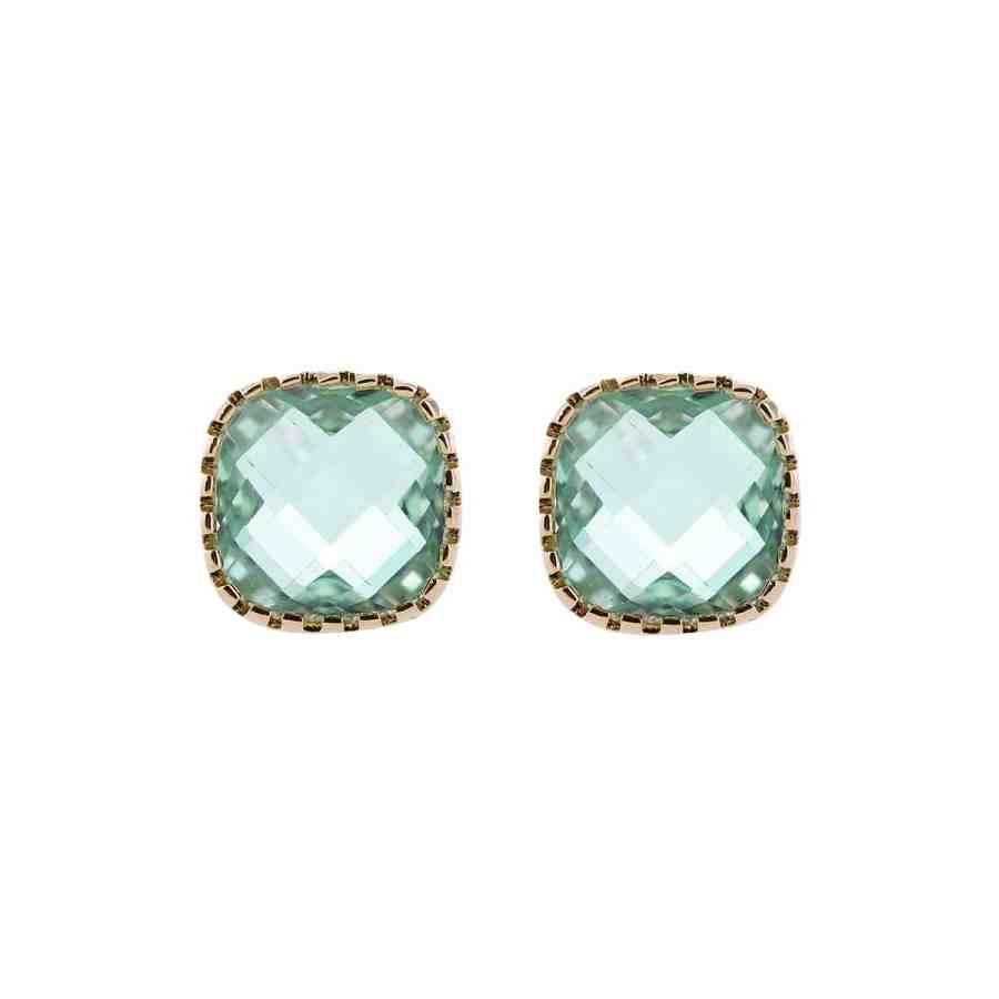 starof-earrings-green