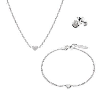Mini Star White Diamond Set