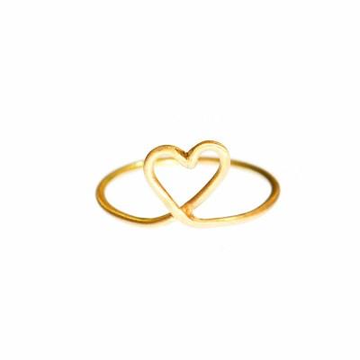 Mitt Hjärta Ring, guld