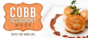 8th annual cobb restaurant week