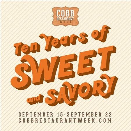 2018 Cobb Restaurant Week