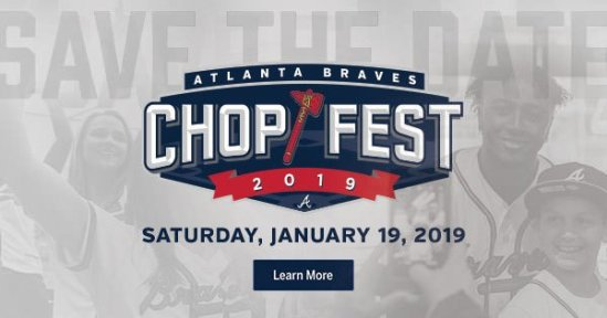 atlanta braves chop fest 2019