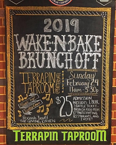 2019 Terrapin Wake-N-Bake Brunch Off