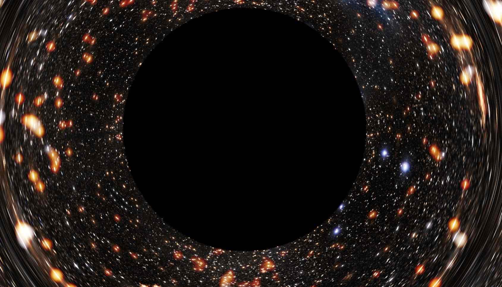 Как появились сверхмассивные черные дыры?