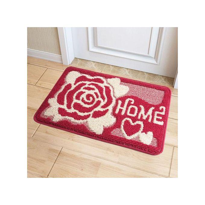 floral printed vintage accueil salle de bains salon tapis tapis rouge jardin tapis tapis 50x80cm