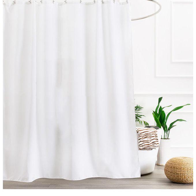 ensemble de rideaux de douche en tissu impermeable rideau en tissu de salle de bains rideaux decoratifs pour ecran de bain paysage bord de
