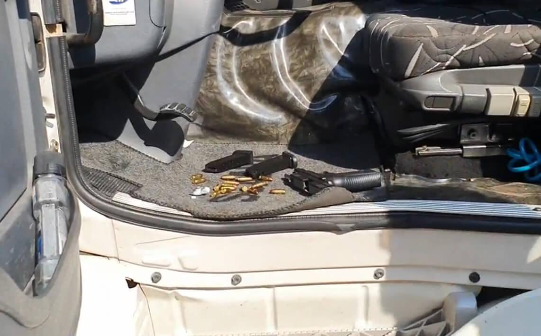 Polícia Rodoviária Federal prende em flagrante caminhoneiro que portava arma de fogo ilegalmente
