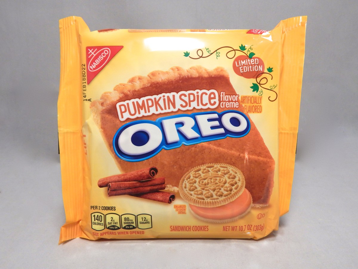 [Review] Nabisco Limited Edition Pumpkin Spice Oreos