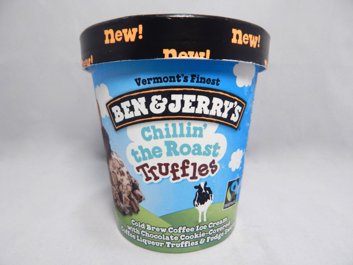 [Review] Ben & Jerry's Chillin' the Roast Truffles Ice Cream